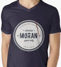 Sebastian Moran  Men's V-Neck T-Shirt