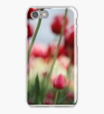 SOFT FLOWERS TULIPS iPhone Case/Skin