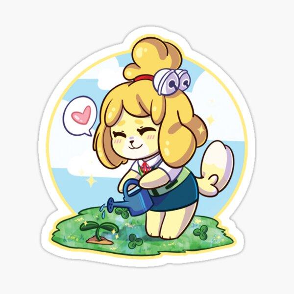 Isabelle Gardening Sticker