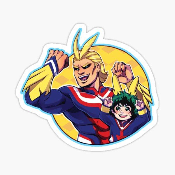 All Might & Deku - Plus Ultra! Sticker