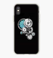 Steampunk iPhone4 on black iPhone Case