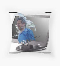 Screen Splash Throw Pillow