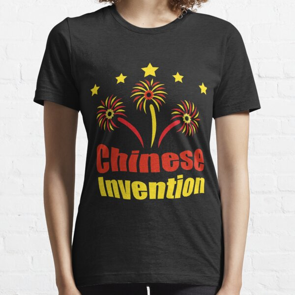 Chinese Invention - Fireworks Essential T-Shirt