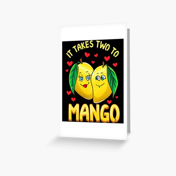 Mango Sticky Rice Foodie Birthday CardMangonificent Birthday!