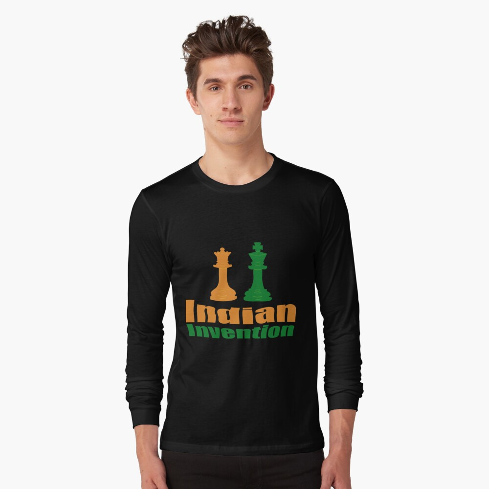 Indian invention - Chess Long Sleeve T-Shirt