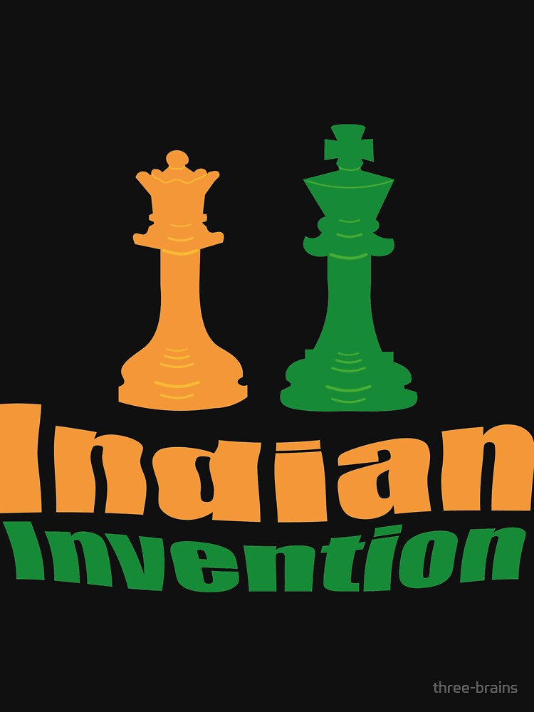 Indian invention - Chess by three-brains