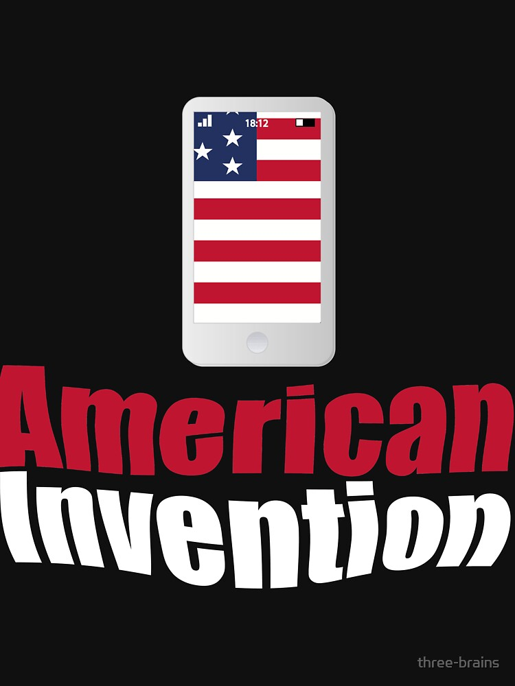 American invention - Mobile cell phone by three-brains