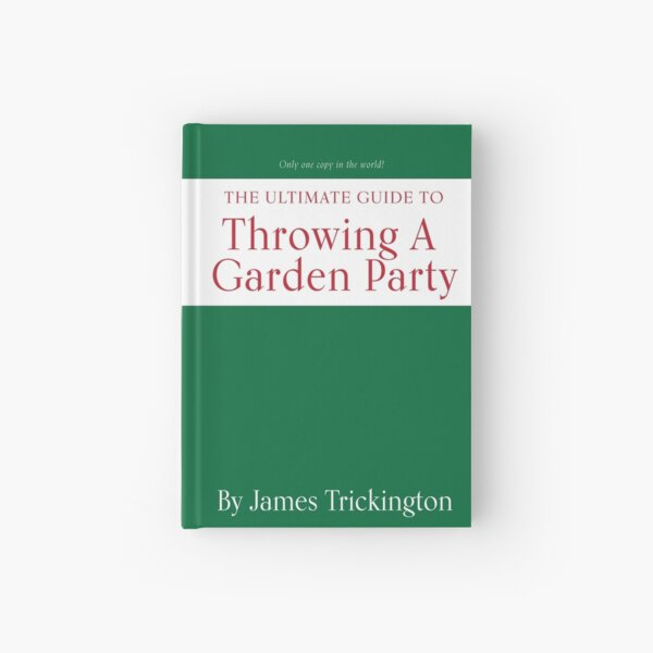 The Office: Throwing A Garden Party by James Trickington Hardcover Journal