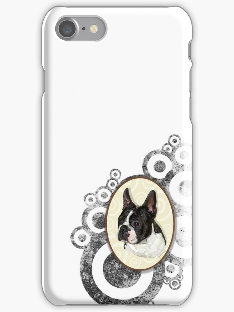 Boston Baby (iPhone case) by jewelskings