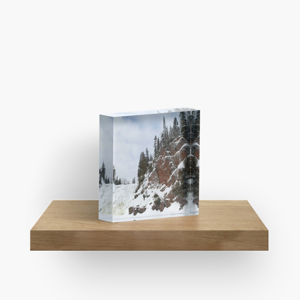 High Falls Acrylic Block