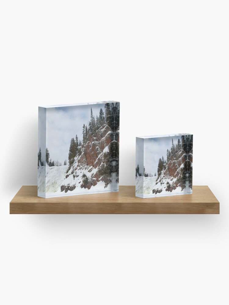 Alternate view of High Falls Acrylic Block