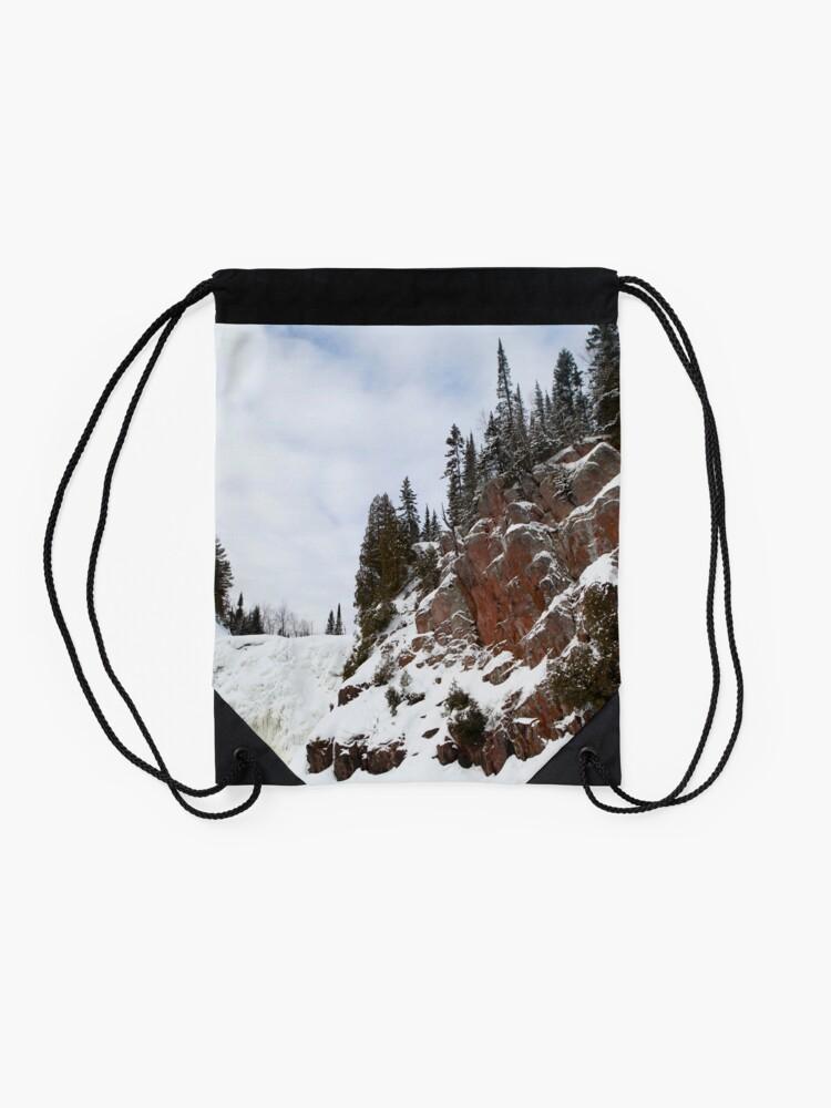 Alternate view of High Falls Drawstring Bag