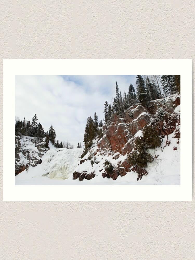 Alternate view of High Falls Art Print