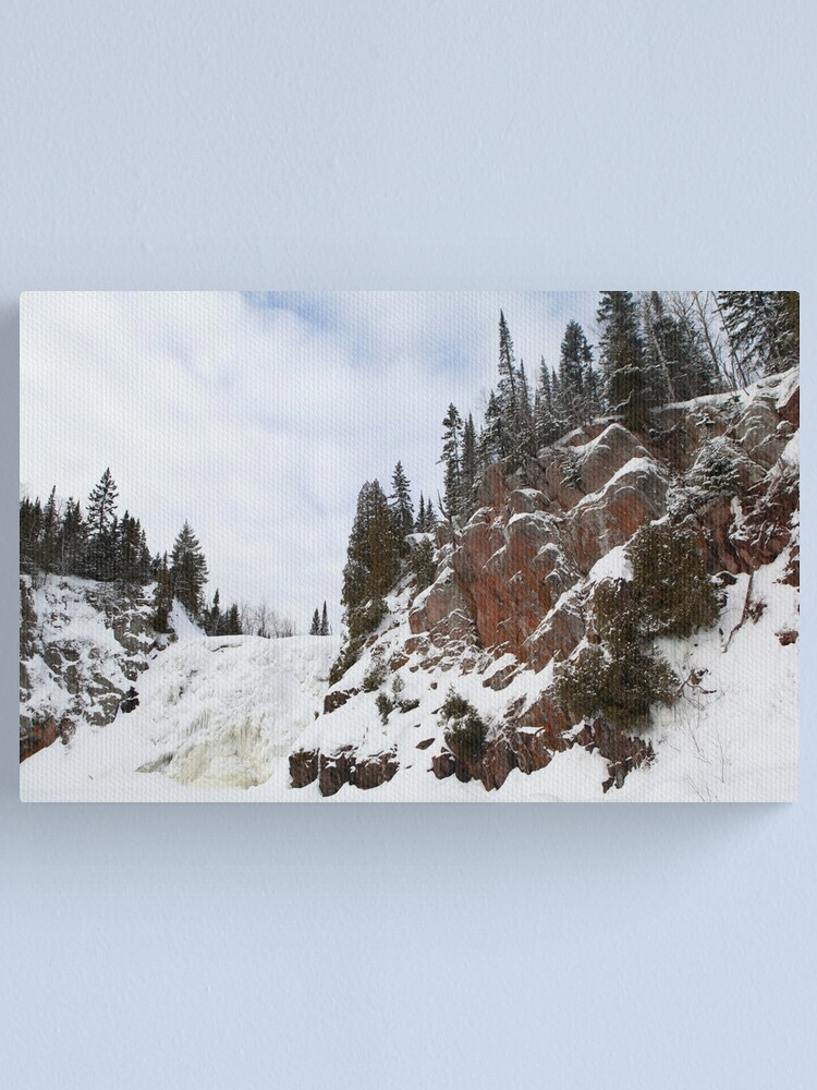 Alternate view of High Falls Canvas Print