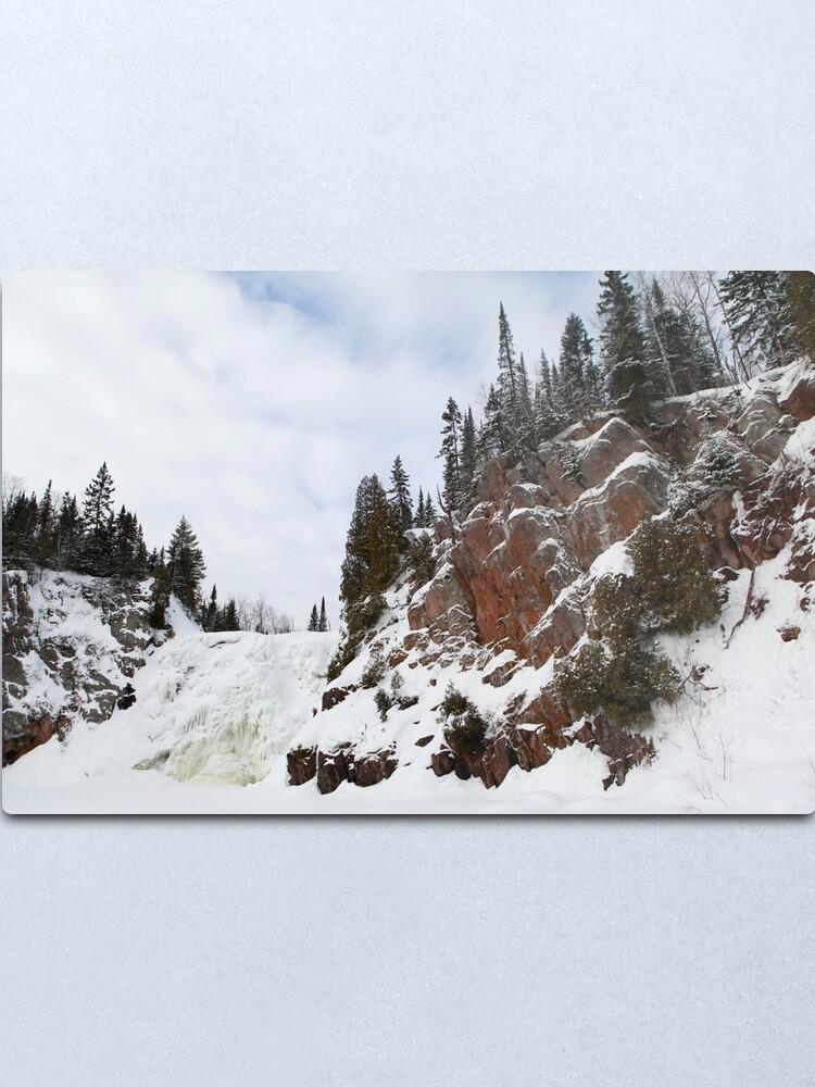 Alternate view of High Falls Metal Print