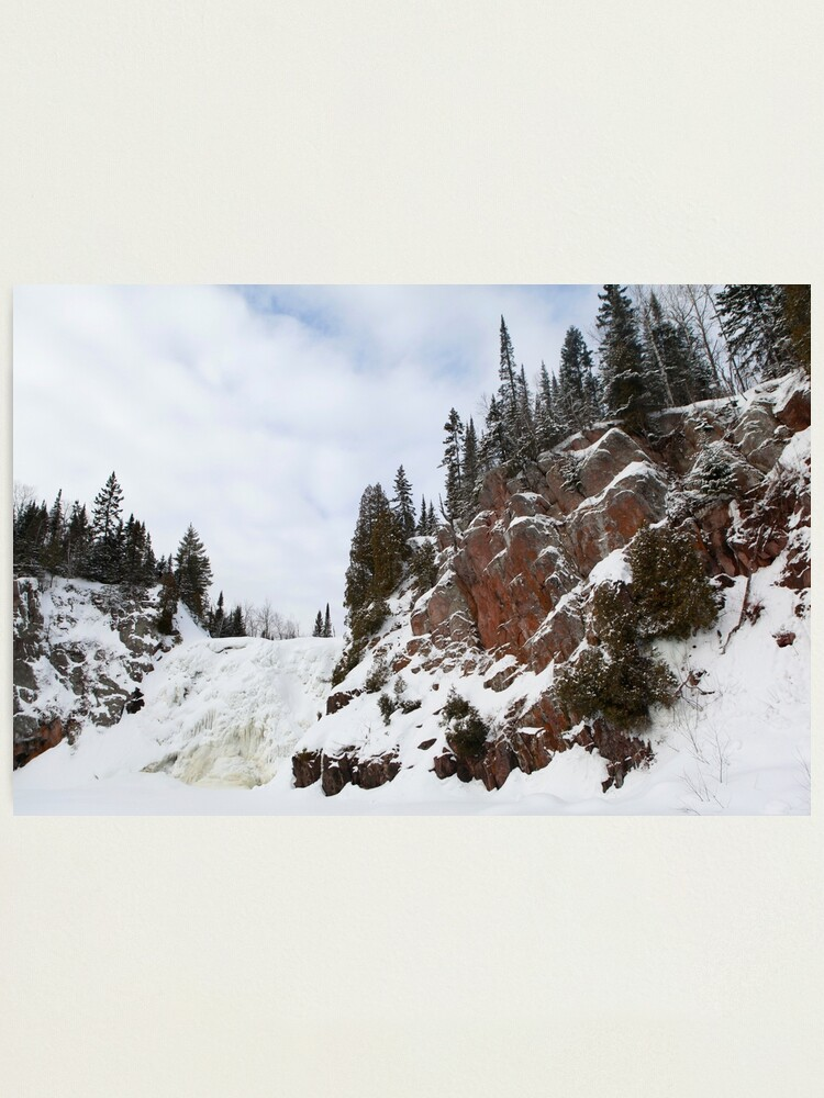 Alternate view of High Falls Photographic Print