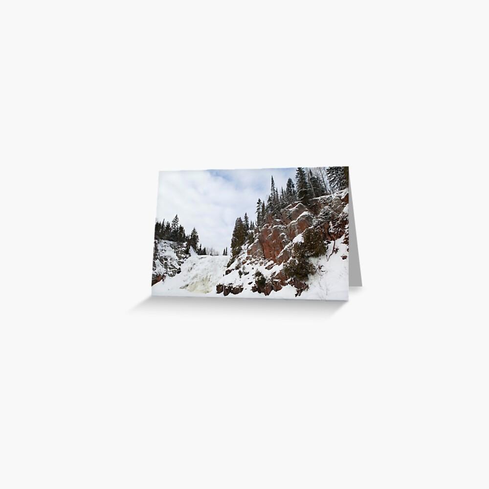 High Falls Greeting Card