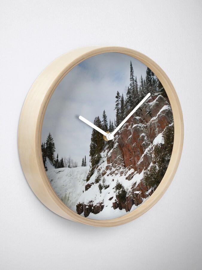 Alternate view of High Falls Clock