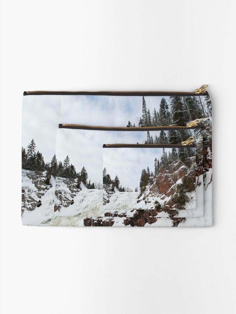 Alternate view of High Falls Zipper Pouch
