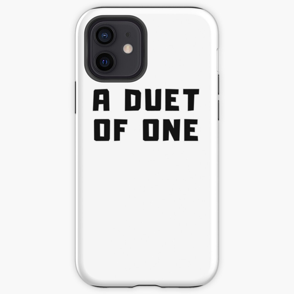 A DUET OF ONE iPhone Case & Cover