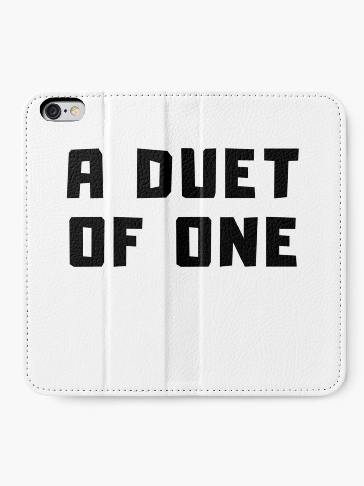 Alternate view of A DUET OF ONE iPhone Wallet