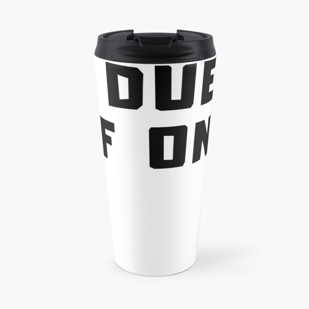 A DUET OF ONE Travel Mug