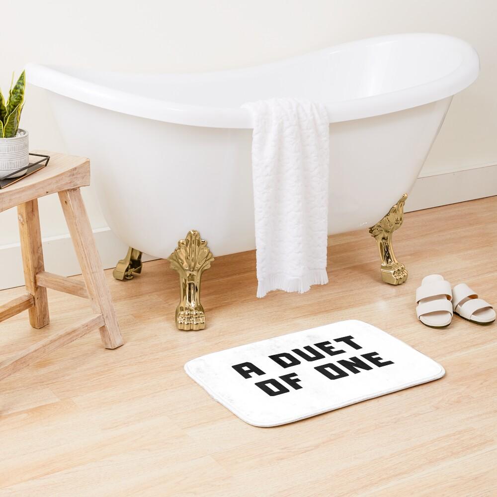 A DUET OF ONE Bath Mat