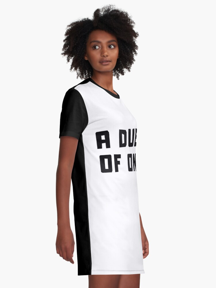 Alternate view of A DUET OF ONE Graphic T-Shirt Dress