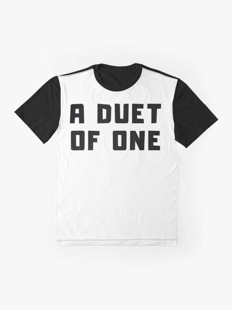 Alternate view of A DUET OF ONE Graphic T-Shirt
