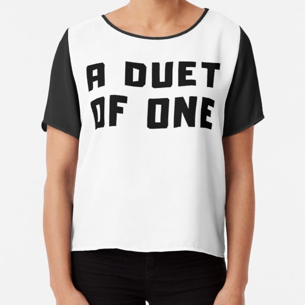 A DUET OF ONE Chiffon Top