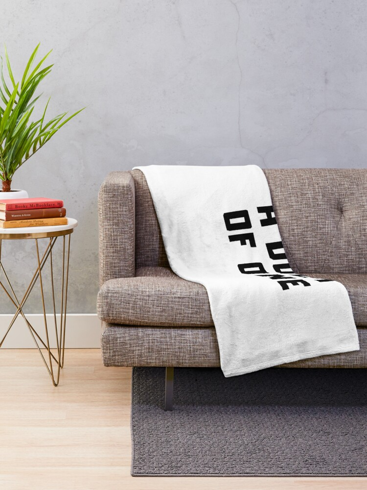 Alternate view of A DUET OF ONE Throw Blanket