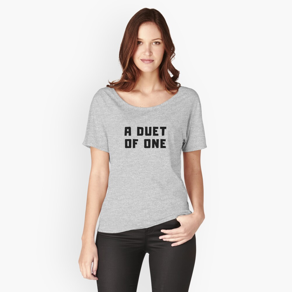 A DUET OF ONE Relaxed Fit T-Shirt