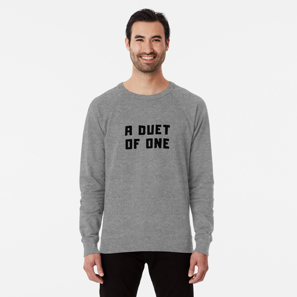 A DUET OF ONE Lightweight Sweatshirt