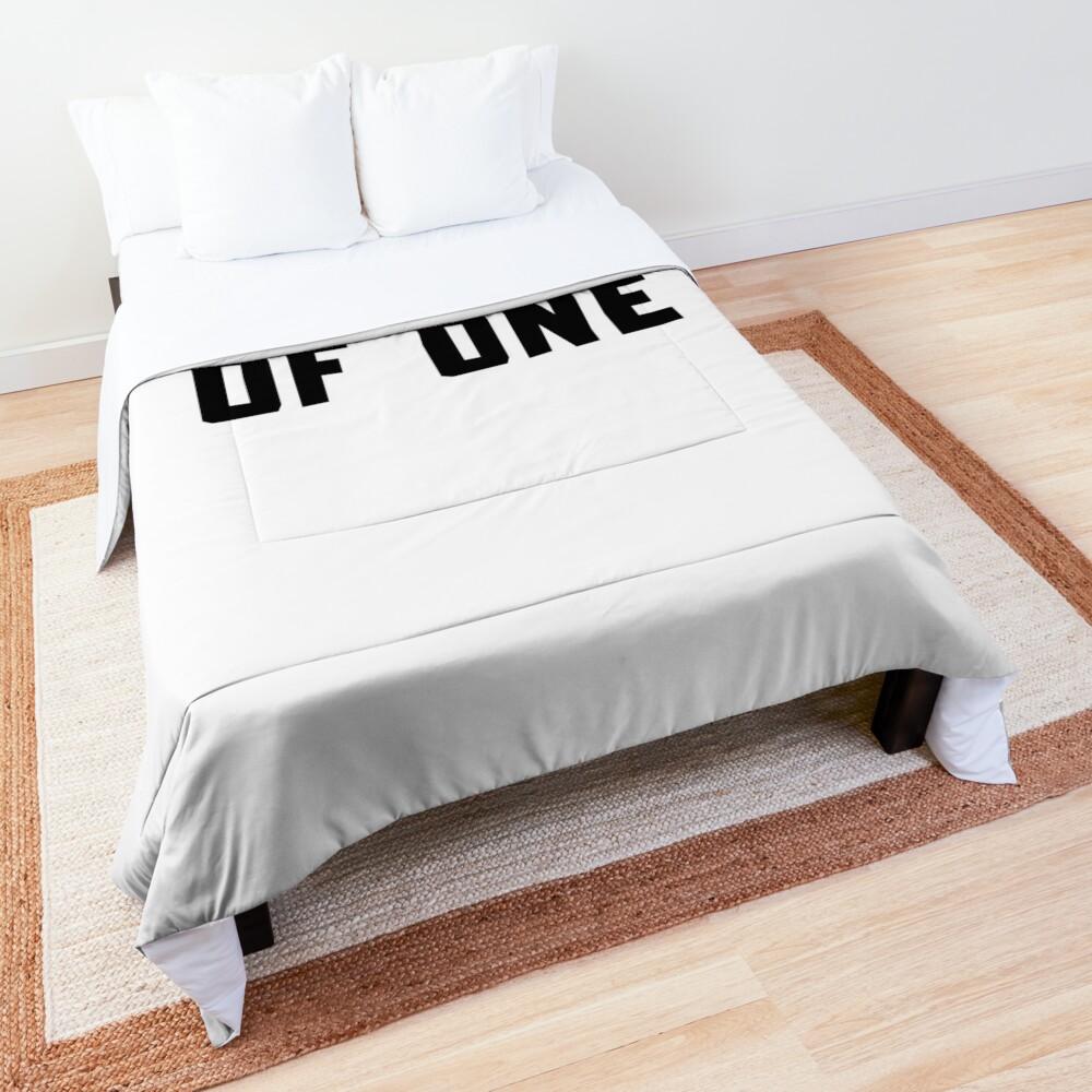 A DUET OF ONE Comforter