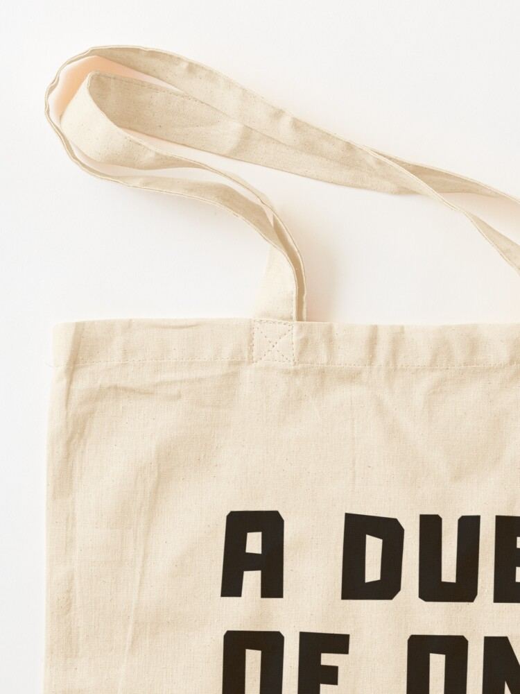 Alternate view of A DUET OF ONE Tote Bag