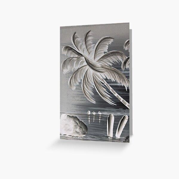 Palm tree #Palm #tree #PalmTree  Greeting Card