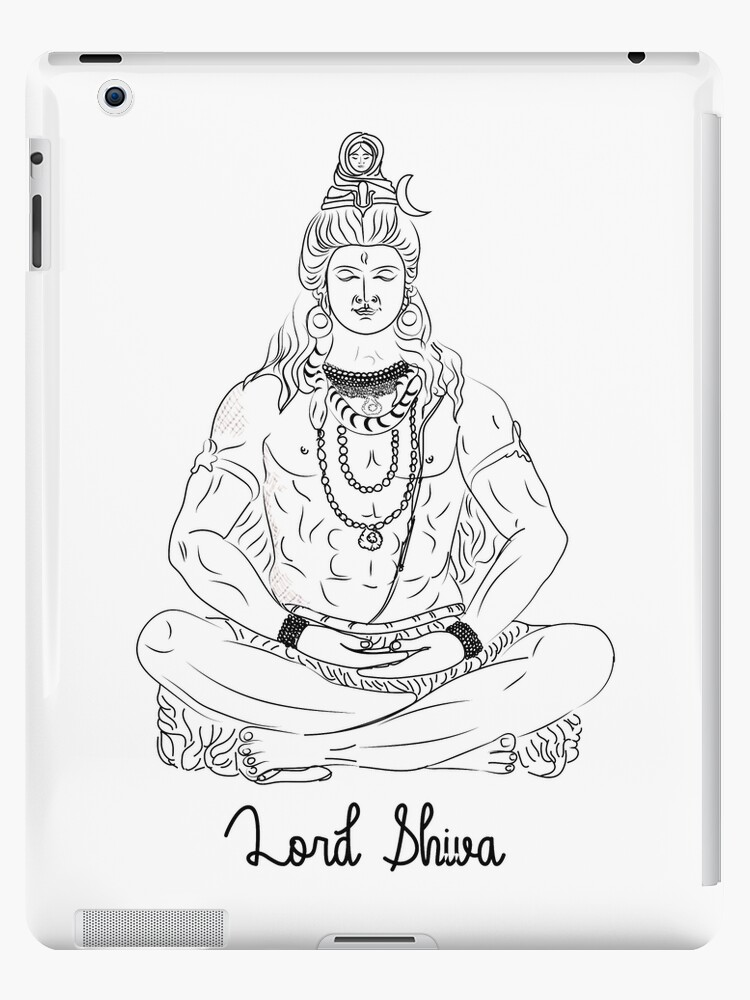 Lord Shiva T Shirt Majestic Lord Shiva In Meditation Lord