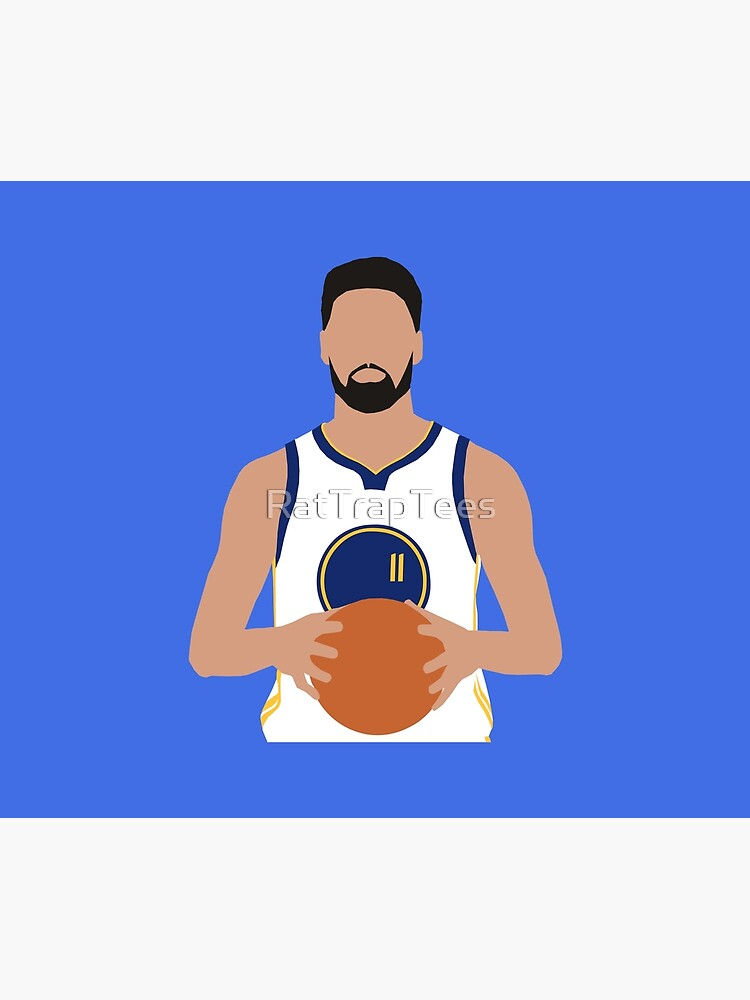Klay Thompson Warriors by RatTrapTees