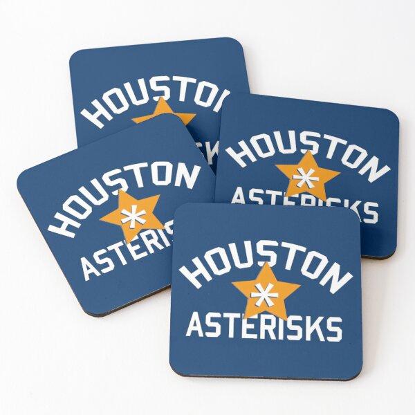 INSTANT CLASSIC!! - Houston Asterisks  Coasters (Set of 4)