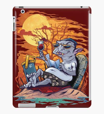 Vampire At The Beach  iPad Case/Skin