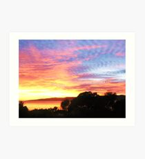 Hawley Sunrise, Canon IXUS 50 Art Print
