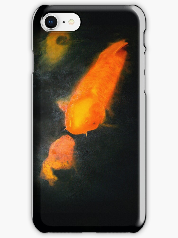 Coy Kiss iPhone Case by Carrie Jackson