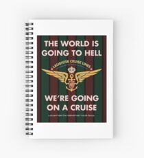The World Is Going To Hell... Spiral Notebook