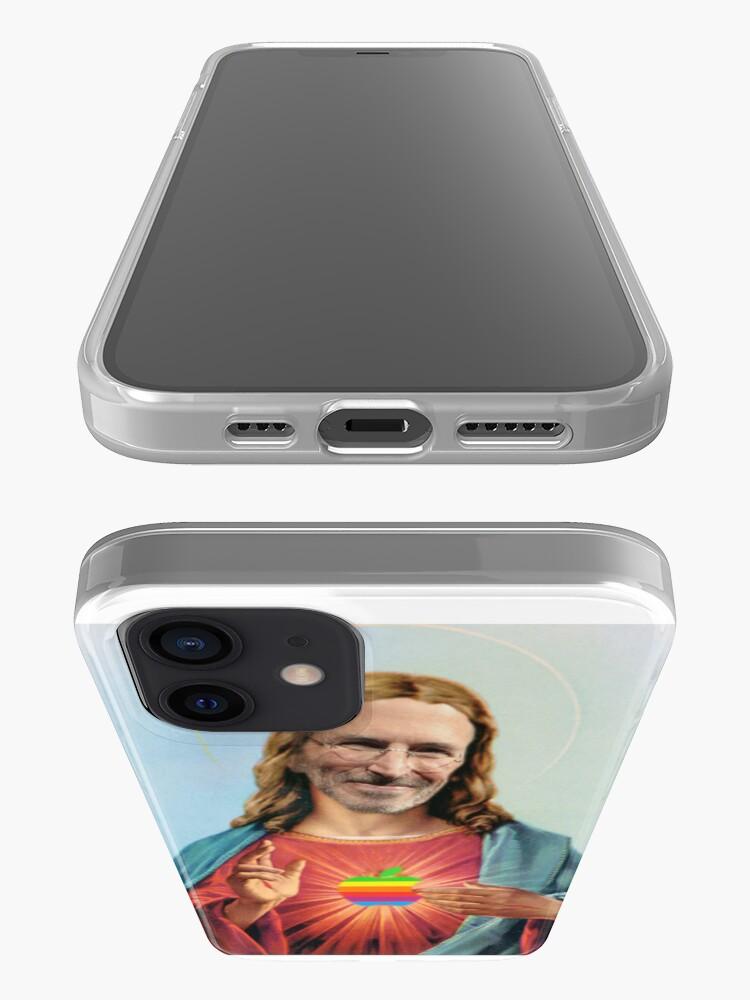 Alternate view of Steve Jobs Jesus  iPhone Case & Cover