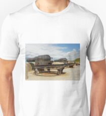 9 inch Guns at The Needles Old Battery Unisex T-Shirt