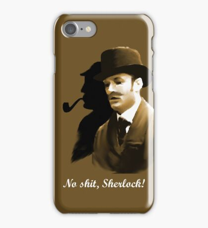 Watson says ... iPhone Case/Skin