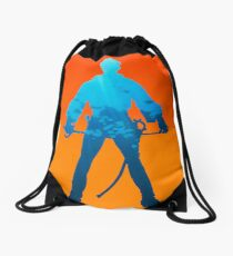 Live Fast. Die Young. Drawstring Bag