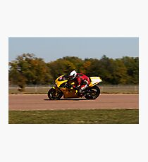 Luke Allen's Ducati Photographic Print