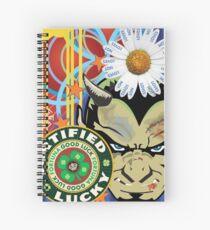 Lucky Devil Spiral Notebook