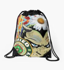 Lucky Devil Drawstring Bag
